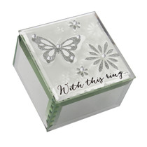 Wings of Love' Butterfly Ring Box 'With This Ring