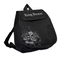 Ring Bearer Backpack Black