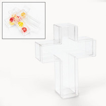Plastic Cross Containers