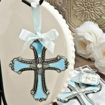 Blue Cross Ornaments