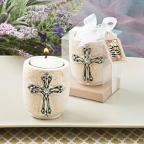 Cross Design Candle Tealight Holder