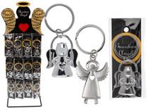 Metal Guardian Angel Key Chain