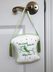 Sweet Pea Door Hanger