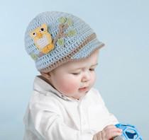 Blue Owl Cap 0-6 Months