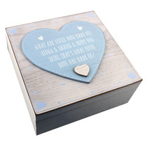 Petit Cheri' Keepsake Box 'What Little Boys Are Made of'