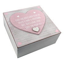 Petit Cheri' Keepsake Box 'What Little Girls Are Made of'