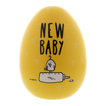 Eggcellent Large Nest Egg Yellow New Baby