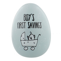 "Eggcellent Large Nest Egg ""Boys First Savings"""