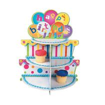 Foam Board Birthday Cake Cupcake Holder