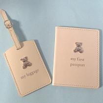 Bambino PU Passport Holder And Luggage Tag