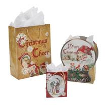 Nostalgic Santa Gift Bag Assortment of 12