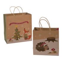 Festive Fox Craft Bag Asst 12