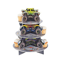 Foam Board Monster Trucks Cupcake Holder