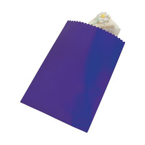 50 x Purple Cake Bags