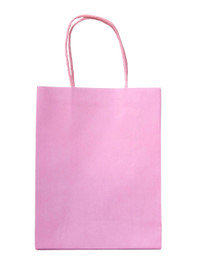 15 x Light Pink Party Bags with handle