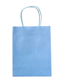 15 x Sky Blue Party Bags with handle