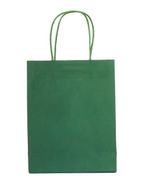 15 x Green Party Bags with handle