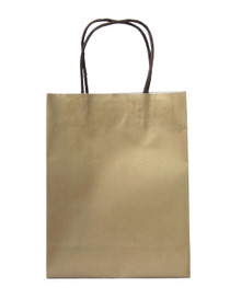 15 x Gold Party Bags with handle