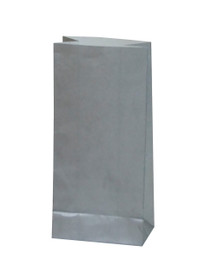 10 x Silver Party Bags