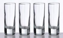 Set of 4 Tall Shot Glasses