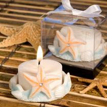 Starfish Design Favour Saver Candle Favours