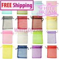 Medium - 7 x 9cm - Organza Gift Bags