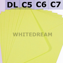Yellow Envelopes - C7, C6, C5, DL, 5'x7' Sizes
