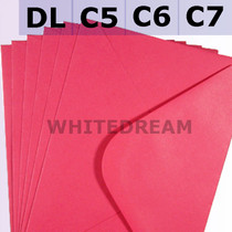 Fuchsia Pink Envelopes - C7, C6, C5, DL, 5'x7' Sizes