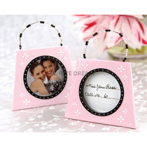 Pink Hangbag Place Card Photo Frame