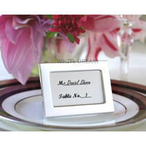 Silver - Photo Frames Wedding Favour | Place Card | Miniature