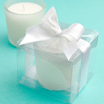 Perfectly Plain Collection Candle Favours
