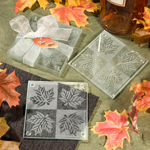 Fall Themed Coaster Favours