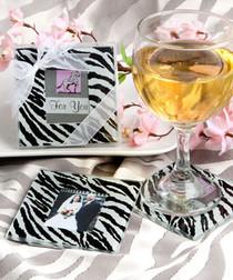 Zebra Pattern Photo Coaster Sets