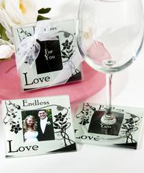 Endless Love Photo Coasters