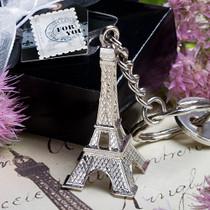 Paris Eiffel Tower Key Chain Favours