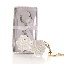 A Rose in Bloom Key Chain