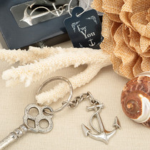 Ocean Themed Anchor Key Chain Favour