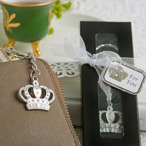 Majestic Crown Key Chain Favour