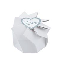 12 x White Wedding Blossom Boxes