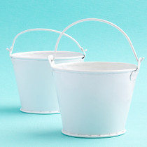 Perfectly Plain Collection Pail Favours