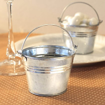 Miniature Galvanized Buckets from White Dream