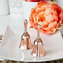 Rose Gold Metal Kissing Bell Or Wedding Bell From White Dream