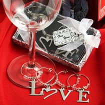 Love Wine Charms