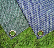 Weaved breathable awning flooring