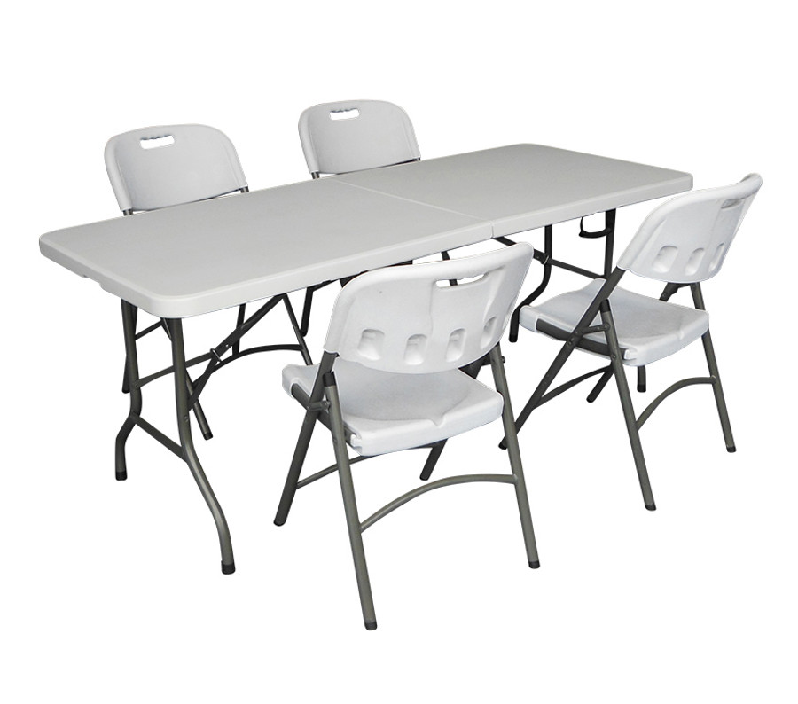 6ft Folding Table and Chair set | TFH Gazebos