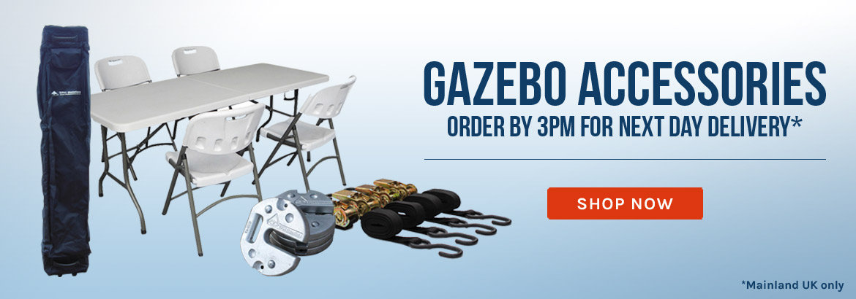 Pop Up gazebo Accessories