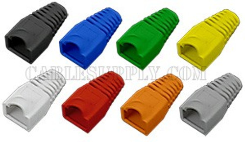 Cat5e and Cat6 RJ45 Strain Relief Boots