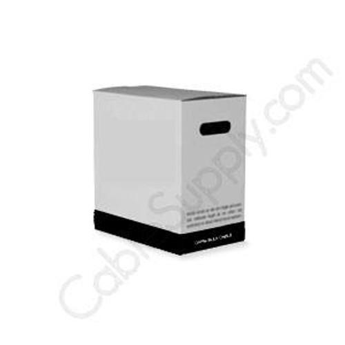 RG6 Coaxial Cable CMR/PVC Quad Shield 1000ft CCS 60%+40% Black PVC