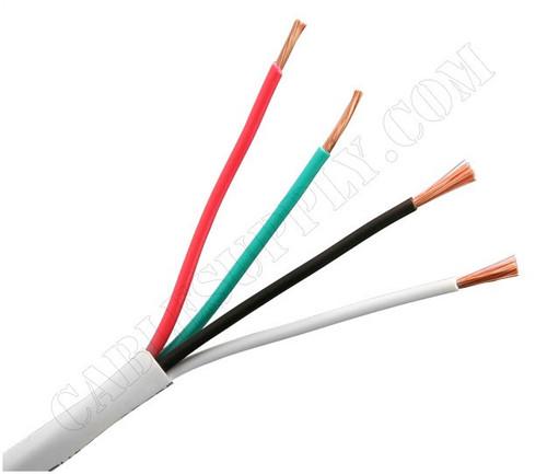 16 Gauge Speaker Cable 500 Foot White