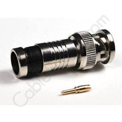 BNC Male Connectors Compression Type 10 pack